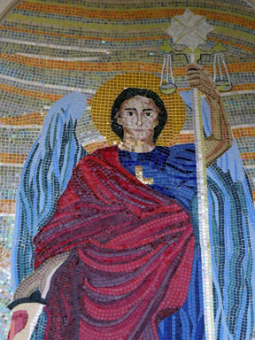 St. Mary Front - Archangel Michael (Close) 2